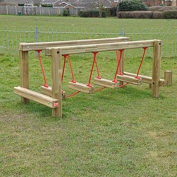 zelf een houten loopbrug maken