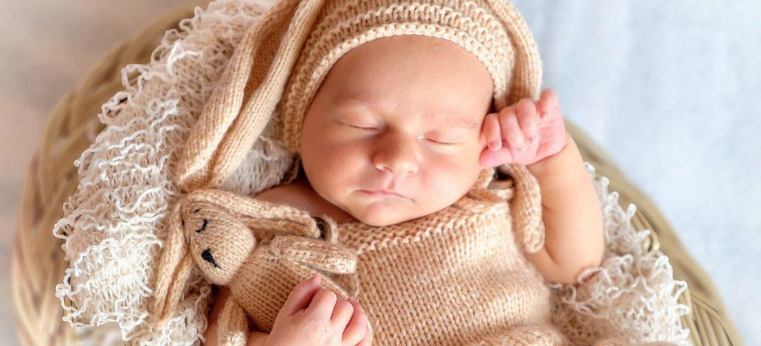 ooievaarsbeet baby