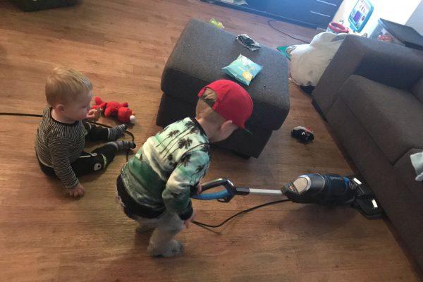 schoonmaken met kids