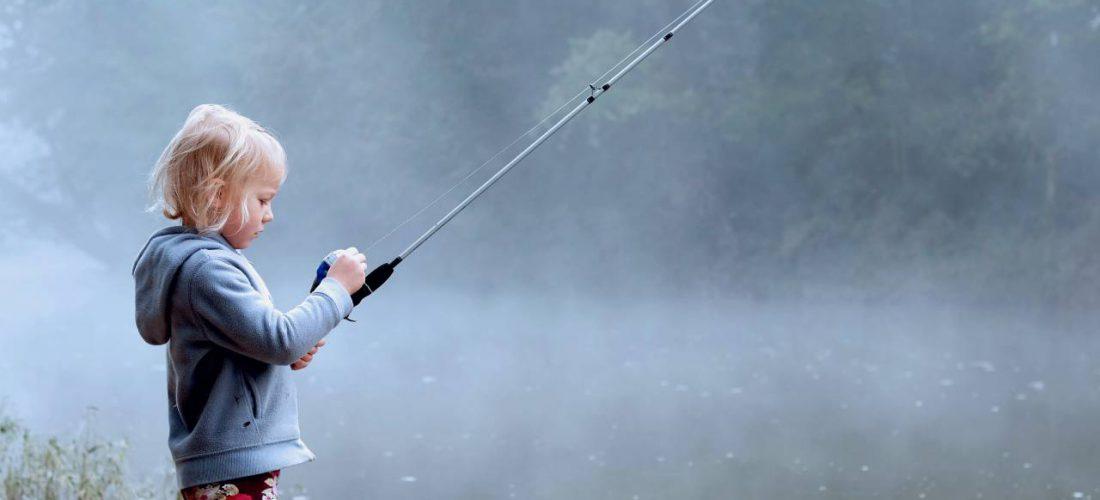 Dagje vissen met kinderen